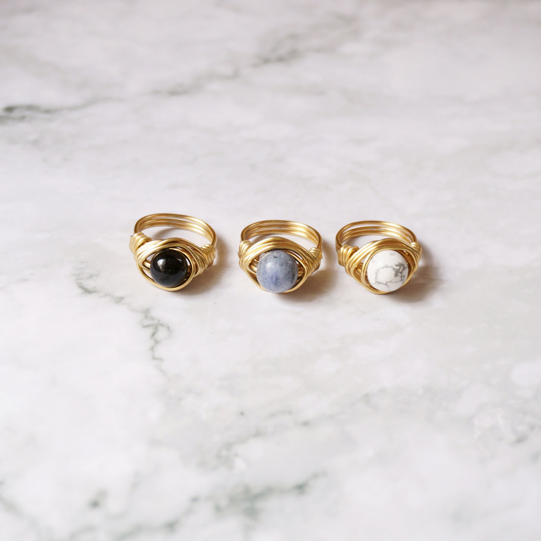 Trench Ring Set