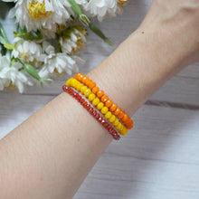 Load image into Gallery viewer, Vibrant Crystal Bracelet Stack