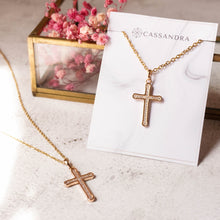 Load image into Gallery viewer, Stainless Cross Necklace