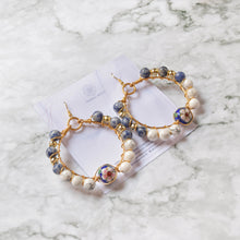 Load image into Gallery viewer, Selina Hoop Earrings