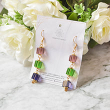 Load image into Gallery viewer, Glass Earrings #5