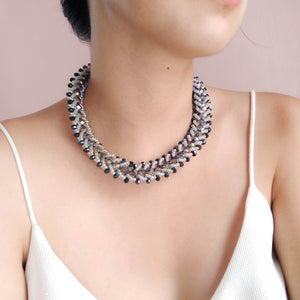 Slyvia Beaded Necklace