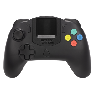 Retro Fighters StrikerDC DreamCast Controller (Black)