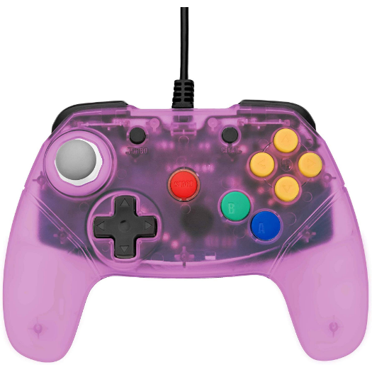Brawler64 - N64 Controller (Purple) - Games Connection