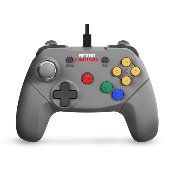 Brawler64 - N64 Controller (Grey) - Games Connection