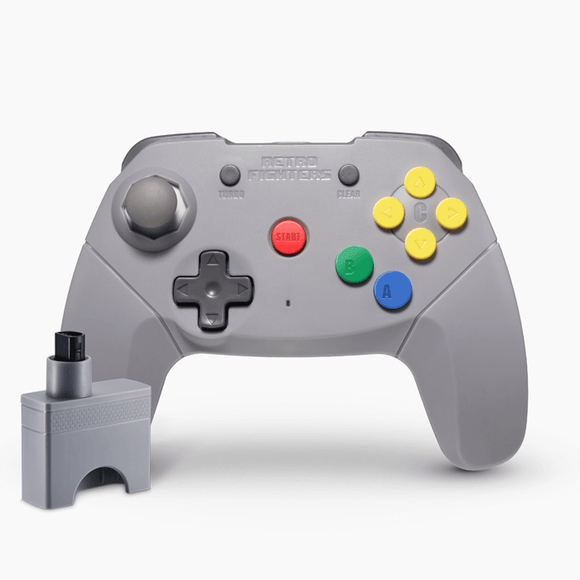 Brawler64 Wireless Edition Controller (Grey)