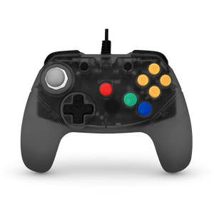 Brawler64 - N64 Controller (Smoke Gray) - Games Connection