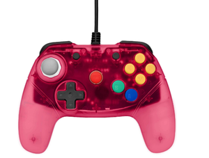 Brawler64 - N64 Controller (red) - Games Connection