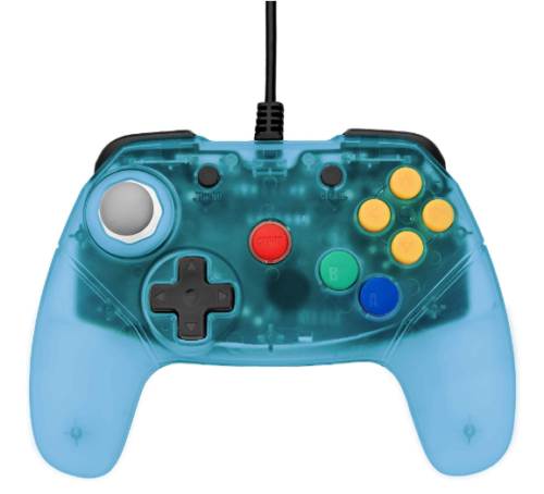 Brawler64 - N64 Controller (Blue) - Games Connection