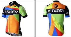Orange Maillot Cycling Jersey - The Cycling Fever - 2