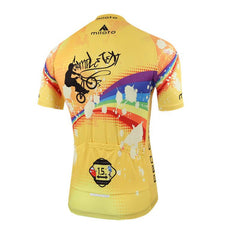 Yellow City Cycling Jersey