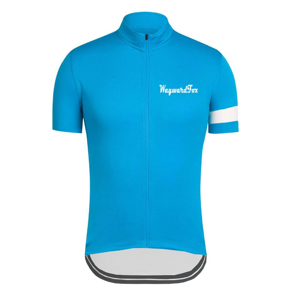 Classic Blue Cycling Jersey