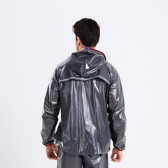 Black Waterproof Cycling Jacket