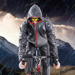 Yellow Waterproof Cycling Jacket