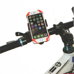 Universal Bicycle Phone Holder with Silicone Support