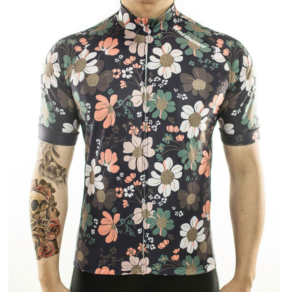 Flower Cycling Jersey - The Cycling Fever - 1