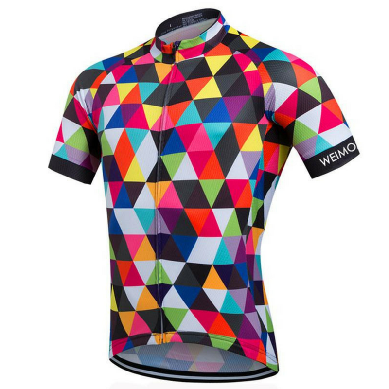 Colorful Fashion Cycling Jersey