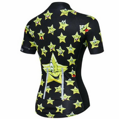 Stars Cycling Jersey for Women