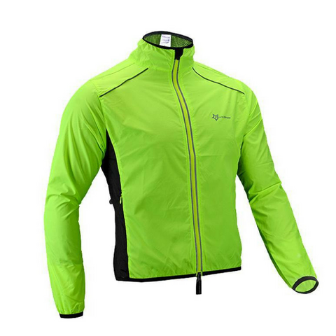 Long Sleeve Green Rock Cycling Jacket
