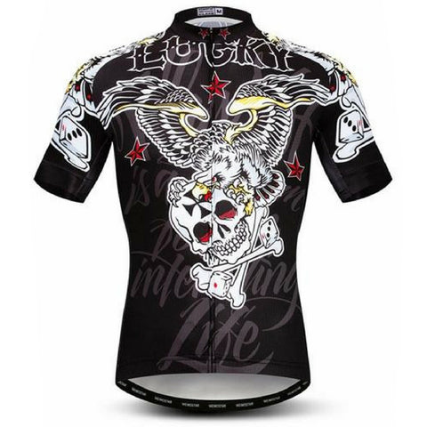 Lucky of Skull Cycling Jersey