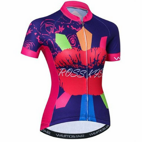Ross Kiss Cycling Jersey for Women