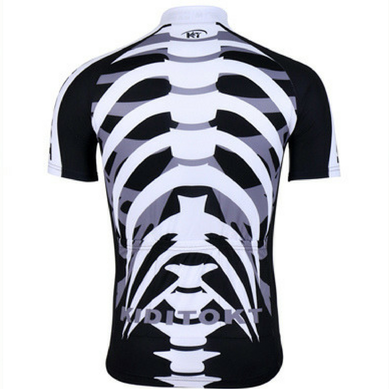 Three Colors Skeleton Cycling Jersey – The Cycling Fever 6e2de43d6