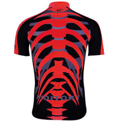 Three Colors Skeleton Cycling Jersey