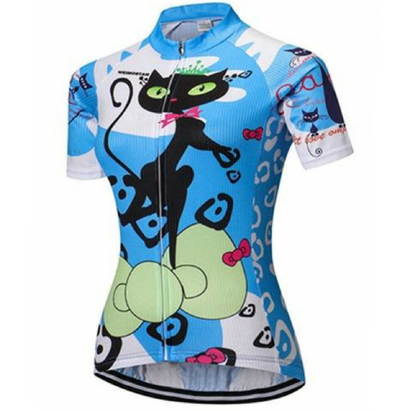 Blue Cat Competitor Cycling Jersey for Women