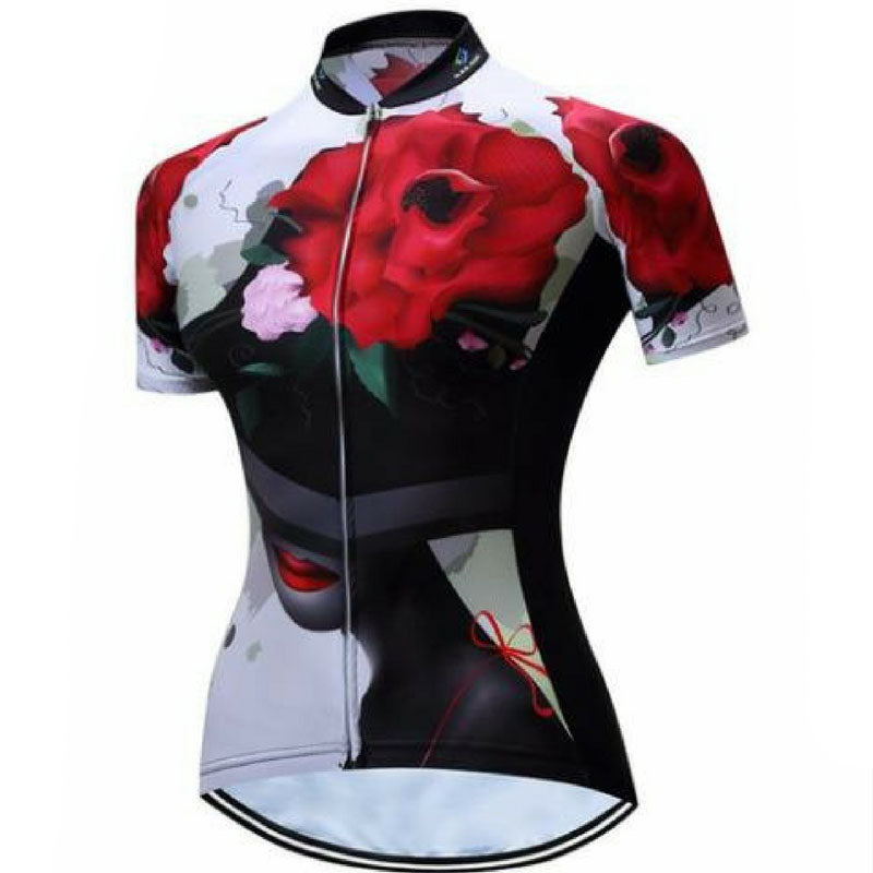 Hat Of Roses Cycling Jersey for Women