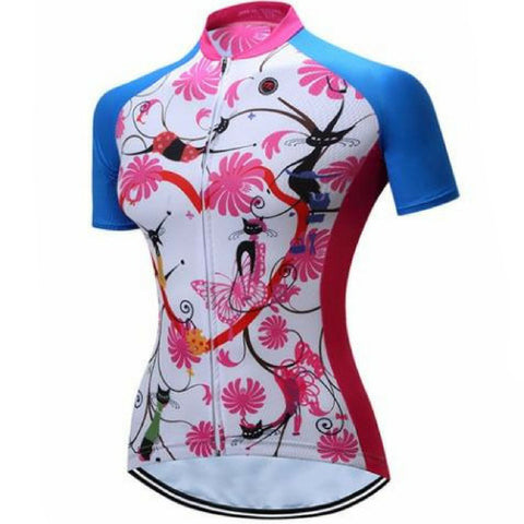 Cute Kittens Cycling Jersey for Women
