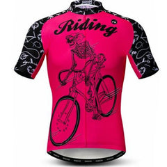 Skeleton Riding Cycling Jersey