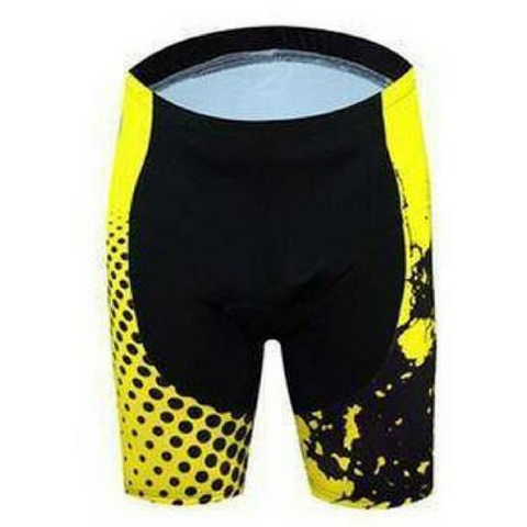 Yellow Cycling Shorts