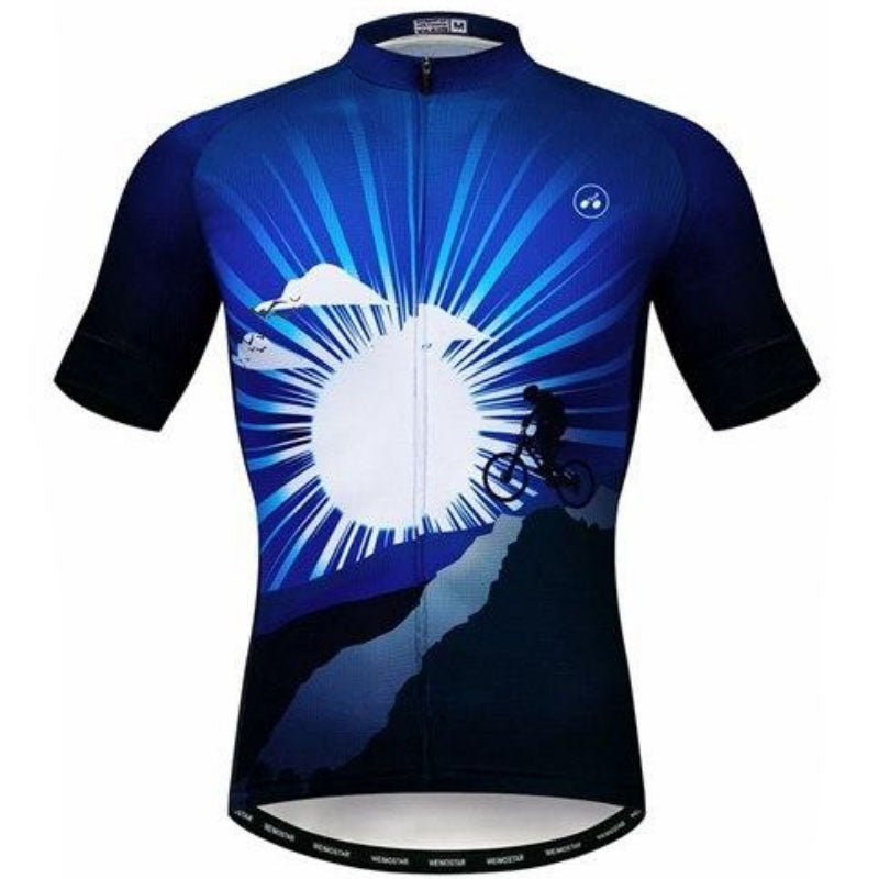 Cyclist Under The Moon Cycling Jersey