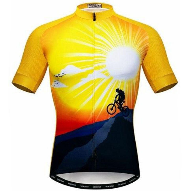 Cyclist Under The Sun Cycling Jersey