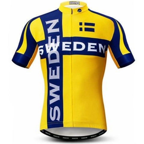 Sweden Team Cycling Jersey