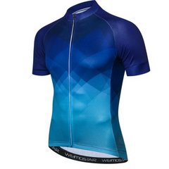 Hypnotic Blue Cycling Jersey