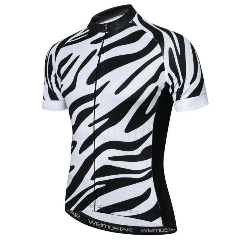 Zebra Cycling Jersey