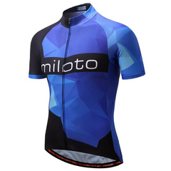 Ultramarine Blue Cycling Jersey