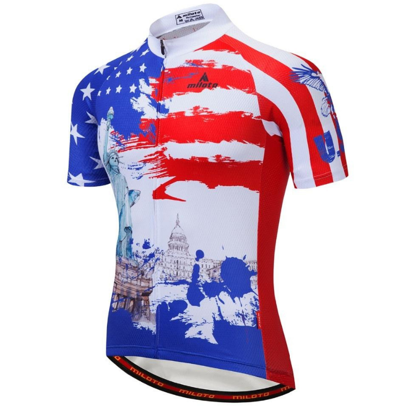 Statue Of Liberty Cycling Jersey
