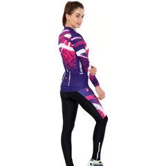 Women's Milky Way Cycling Wear Set Long Sleeve
