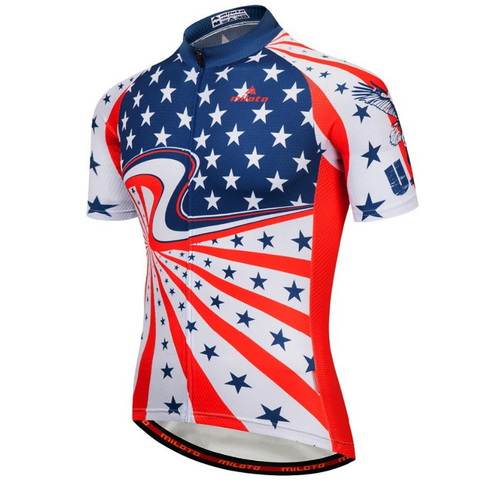 Stars Of The USA Cycling Jersey