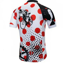 Red Cycling Jersey Set