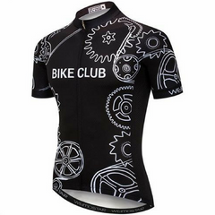 Black Bike Club Cycling Jersey
