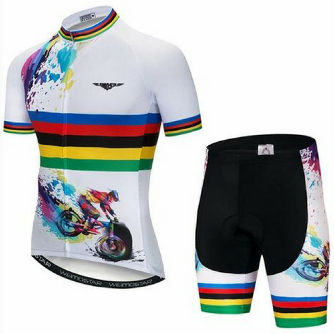 Colorful Cycling Jersey Set