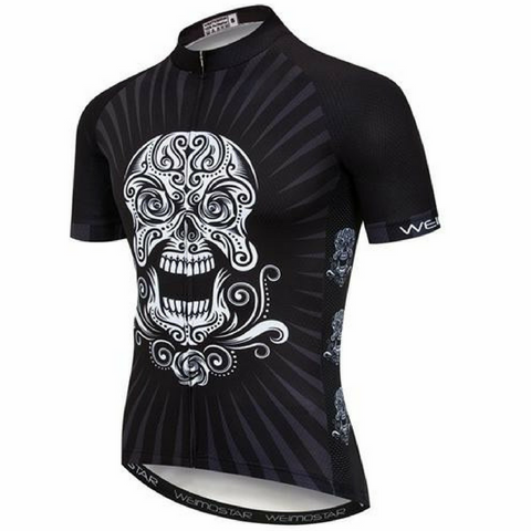 Smiling Skull Cycling Jersey