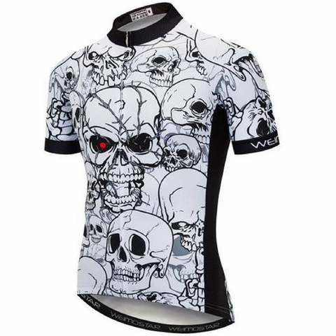 Lots Of Skulls Cycling Jersey