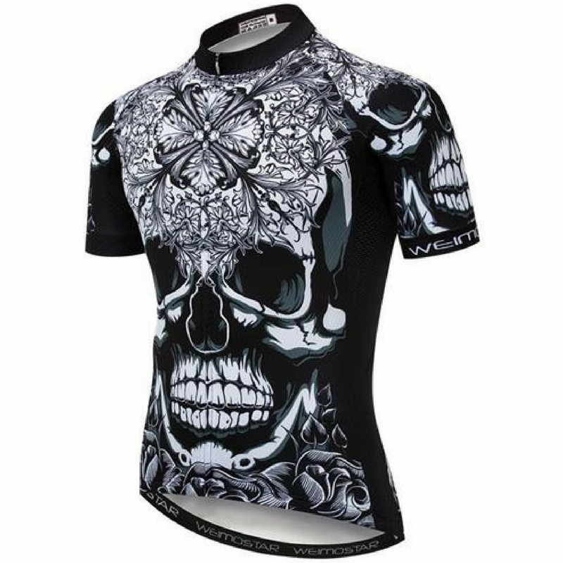 Terrifying Skull Cycling Jersey