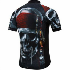 Pirate Skull Cycling Jersey