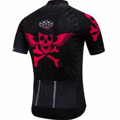 Black King Of Skulls Cycling Jersey