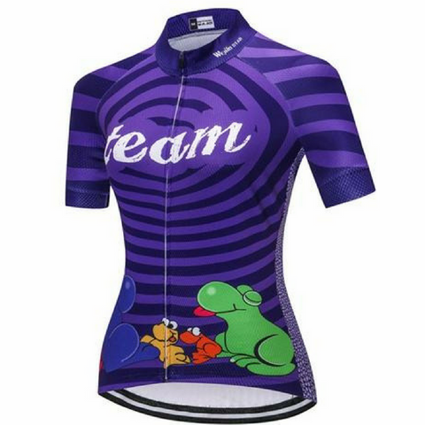Ride Like A Nerd Cycling Jersey for Women